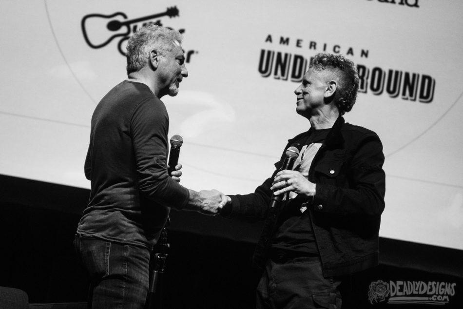 Martin Gore Receives Moog Innovation Award
